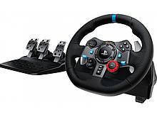 Ігровий руль Logitech G29 Driving Force PC/PS3/PS4 Black (941-000112)