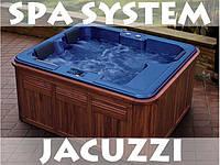 Джакузи ванна на 3 чел. Спа