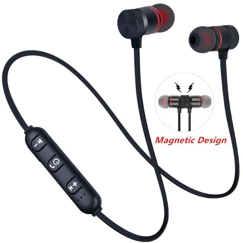 Блютус стерео гарнітура, Bluetooth 4.2 stereo headset, колір чорний