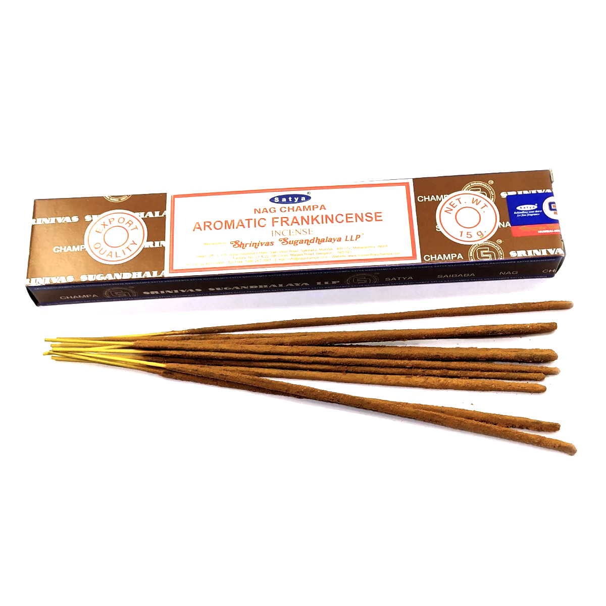 Палочки Frankincense (Ладан), Satya