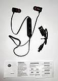 Блютус стерео гарнітура, Bluetooth 4.2 stereo headset, колір чорний, фото 8