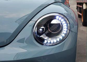 Передние фары VW Beetle (11-19) тюнинг Led оптика