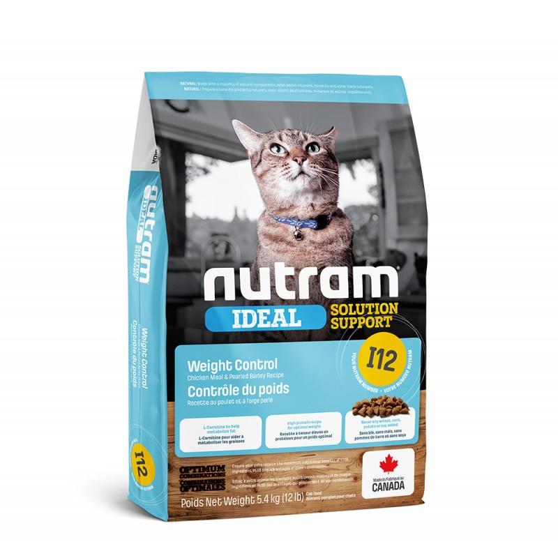 Nutram (Нутрам) I12 Ideal Solution Support Weight Control Cat Food корм для контроля веса, 1.13 кг