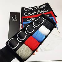 Мужской набор Calvin Klein Black Style боксеры, мужсие трусы Кельвин Кляйн реплика, фото 7