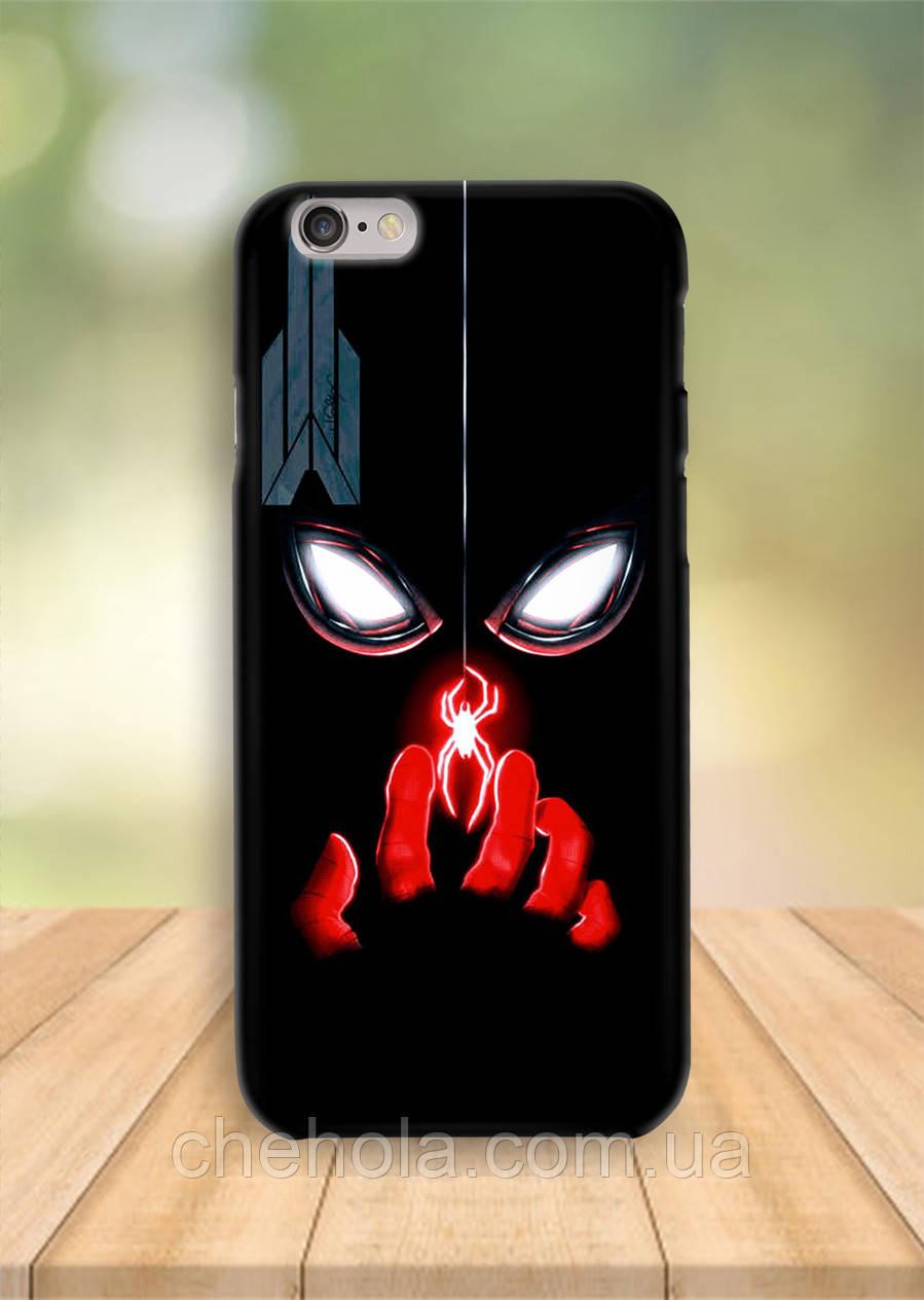 Чохол на iPhone 6S 6 PLUS 6 Людина павук чорний