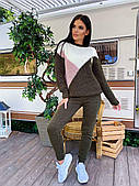 Женский модный прогулочный костюм (в расцветках)
