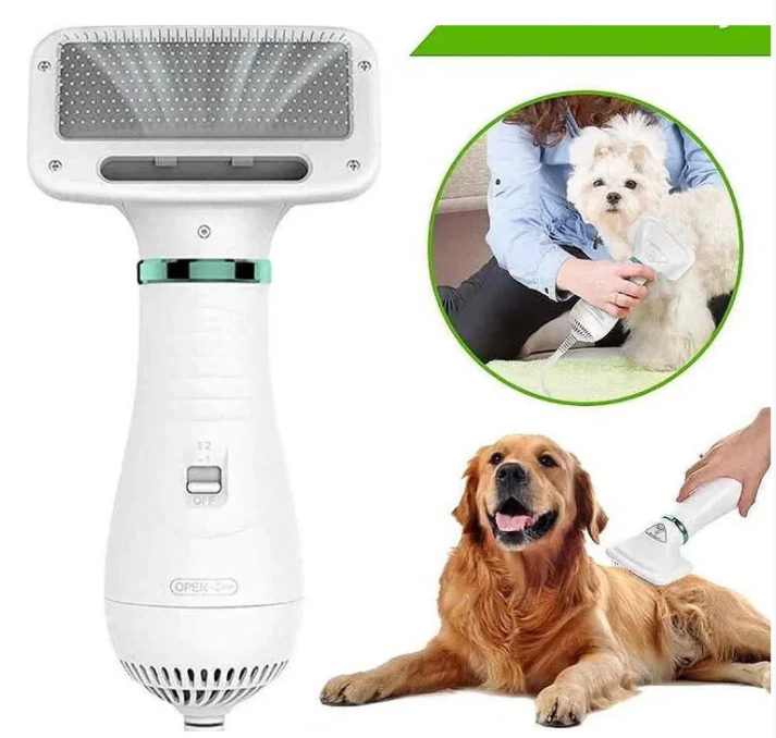 Пилосос-гребінець для вовни Pet Grooming Dryer WN-10