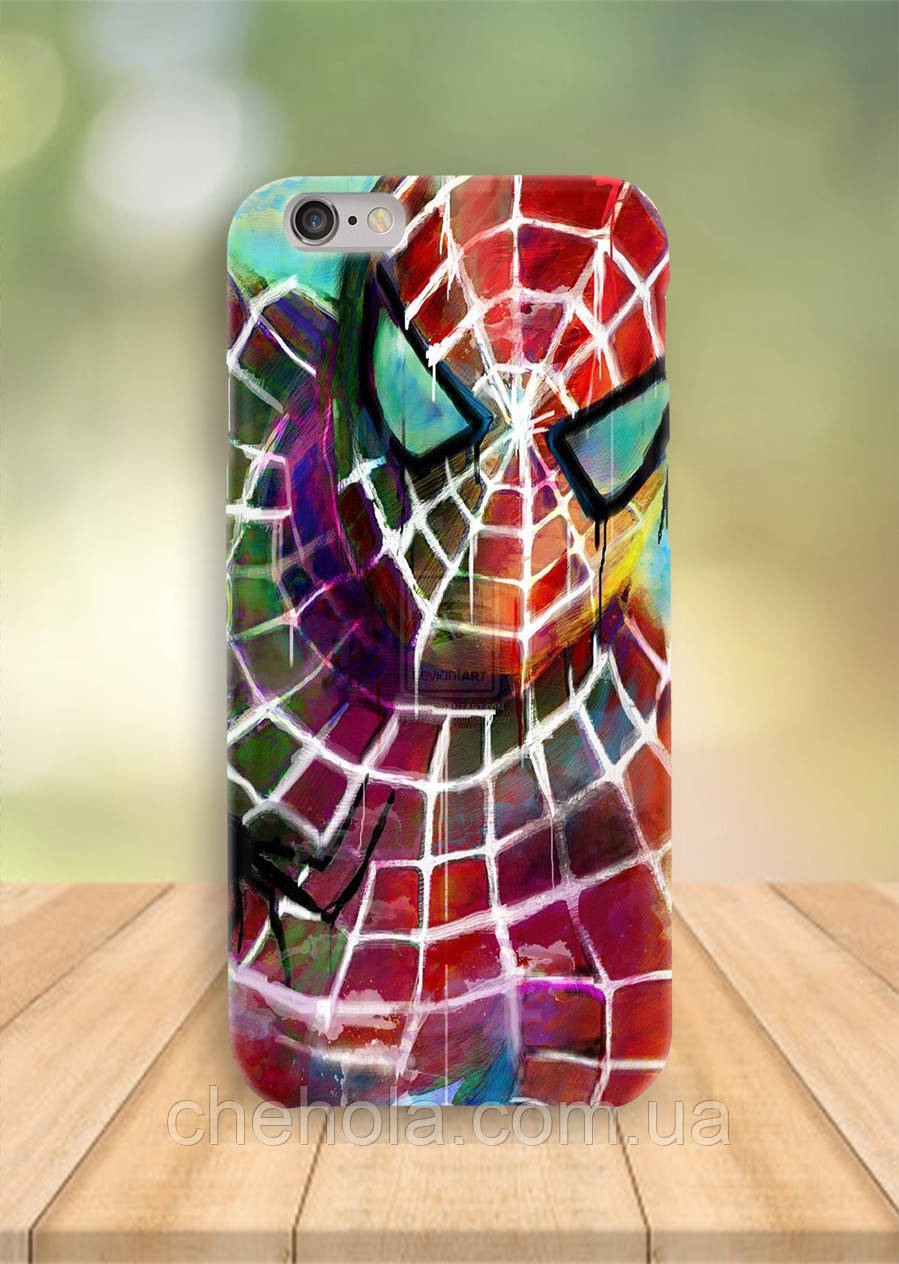 Чехол на iPhone 6S 6 PLUS 6 Человек паук