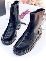 Комфортні жіночі черевики Шанель (репліка), фото 1