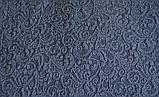 Натяжные чехлы на угловой диван накидка еврочехол Все цвета Кремовый жаккардовый с оборкой, фото 9
