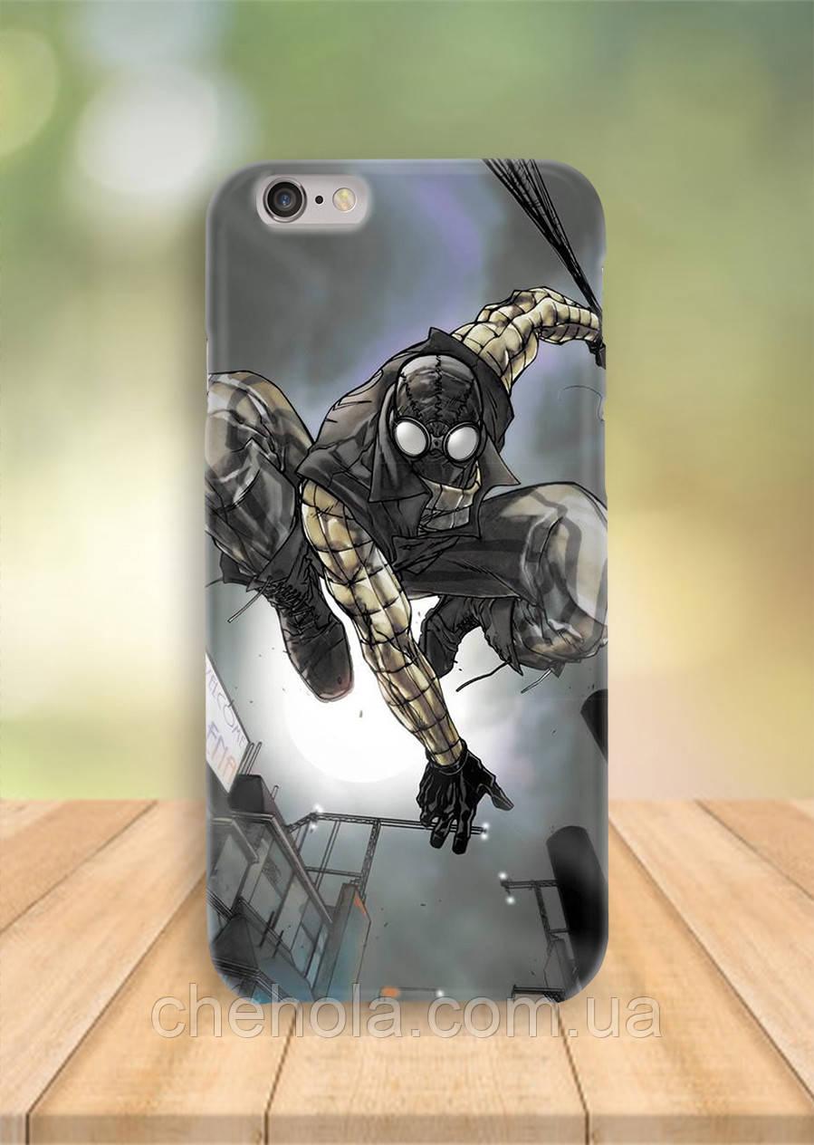 Чохол на iPhone 6S 6 PLUS 6 Людина павук Нуар