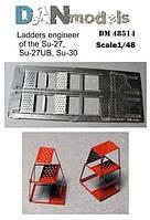 Самолетные стопорные колодки, набор № 6 в масштабе 1/48.  DANMODELS DM 48515