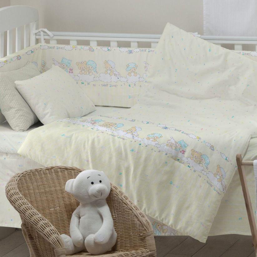 Сменный Комплект постели в детскую кроватку