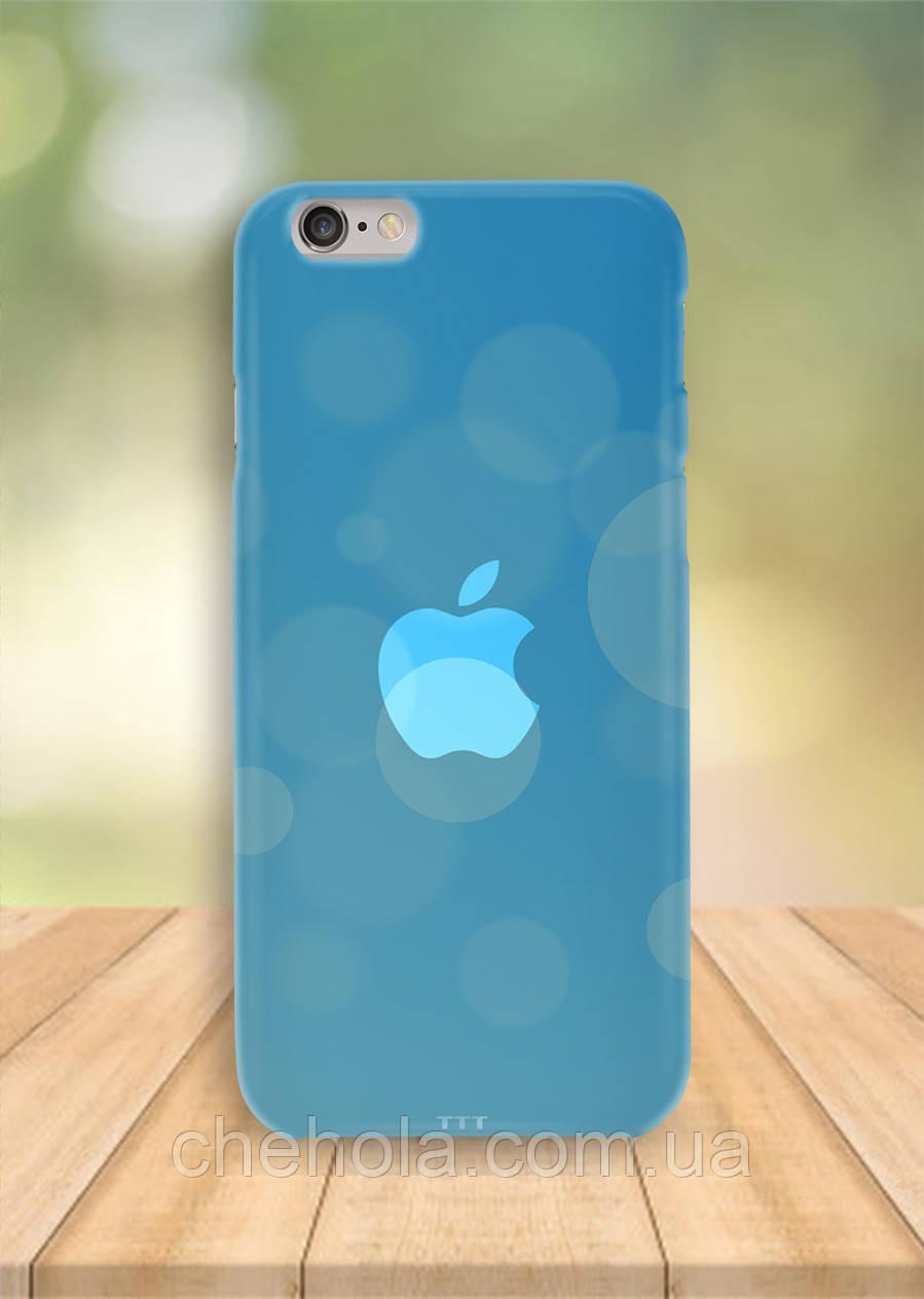Чохол на iPhone 6S 6 PLUS 6 Apple Блакитні вогники