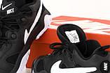 Кроссовки мужские Nike Air Barrage Low в стиле найк барраж ЧЕРНЫЕ (Реплика ААА+), фото 7