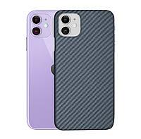 Карбоновый чехол для Apple iPhone 11 Karbon case
