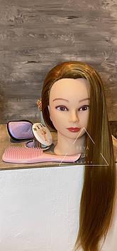 Набір голова навчальна для перукарів з гребінцями