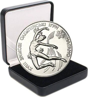 """Срібна монета НБУ """"Фігурне катання"""", фото 2"""