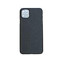 Карбоновый чехол для Apple iPhone 11 Pro Max Karbon case, фото 1