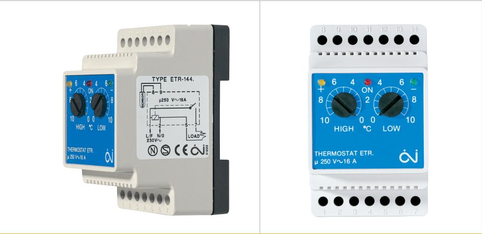Терморегулятор Oj electronics  ETR/F-1447A