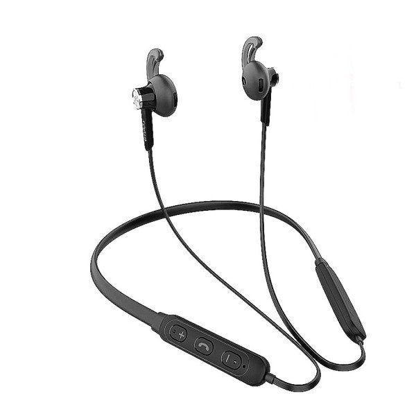 Bluetooth наушники Celebrat A16 беспроводные, стерео гарнитура спортивная  черные