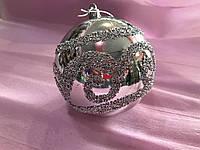 Шар ёлочный d-10см Новогодько 971388