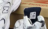 Мужские кроссовки New Bаlance 530 в стиле нью беланс Белые (Реплика ААА+), фото 7
