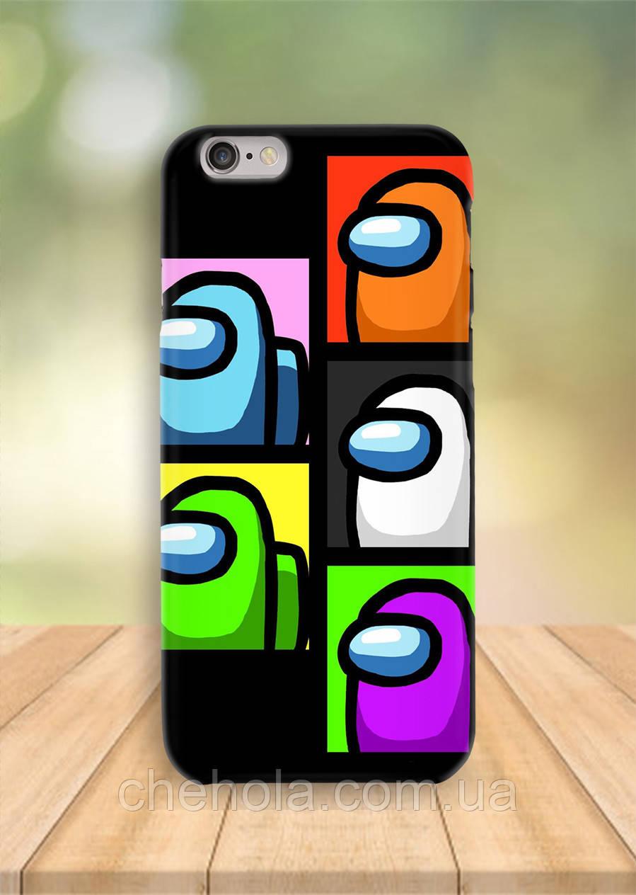 Чохол на iPhone 6S 6 PLUS 6 Amoung Us
