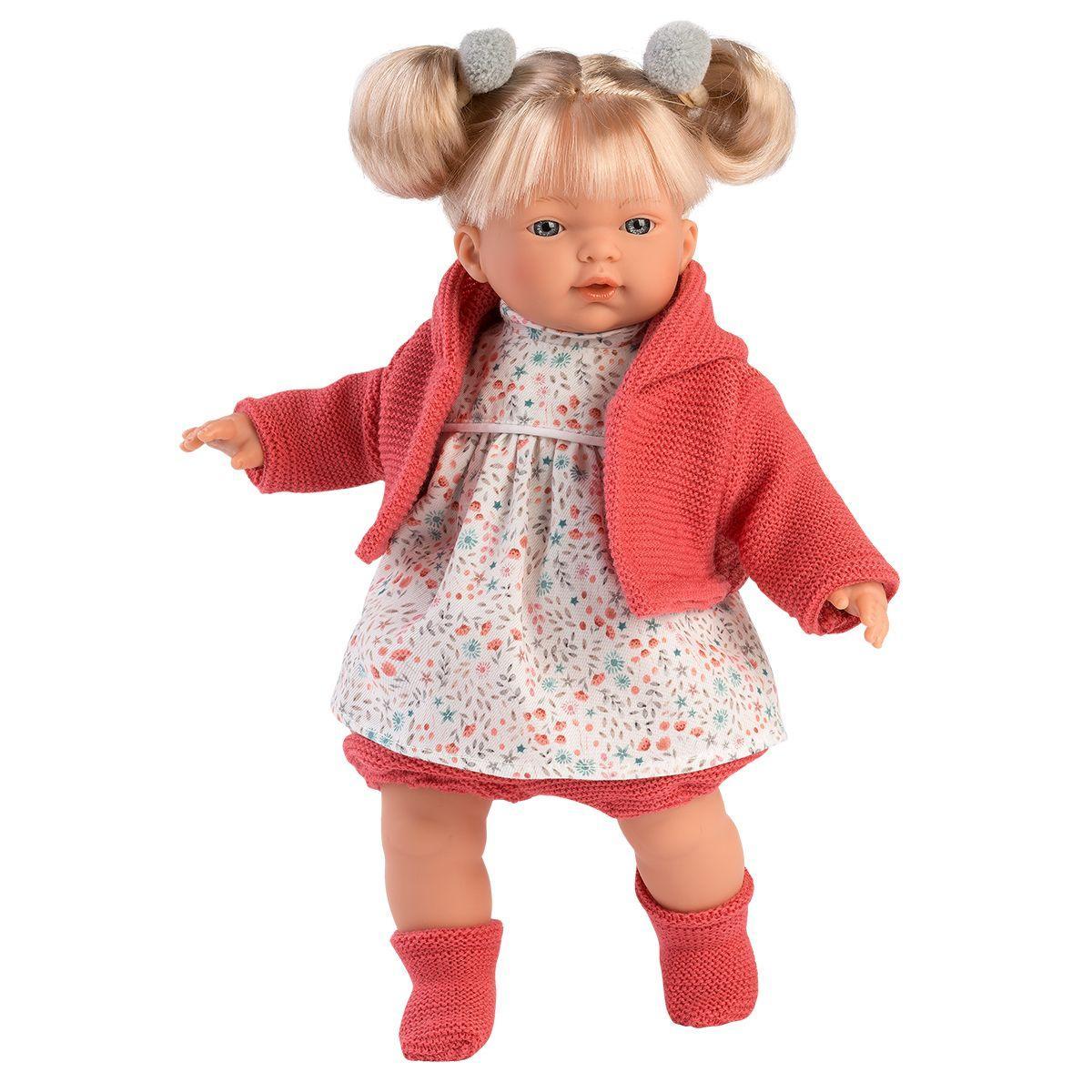 Интерактивная плачущая кукла, 33см, Айтана, Llorens 33124