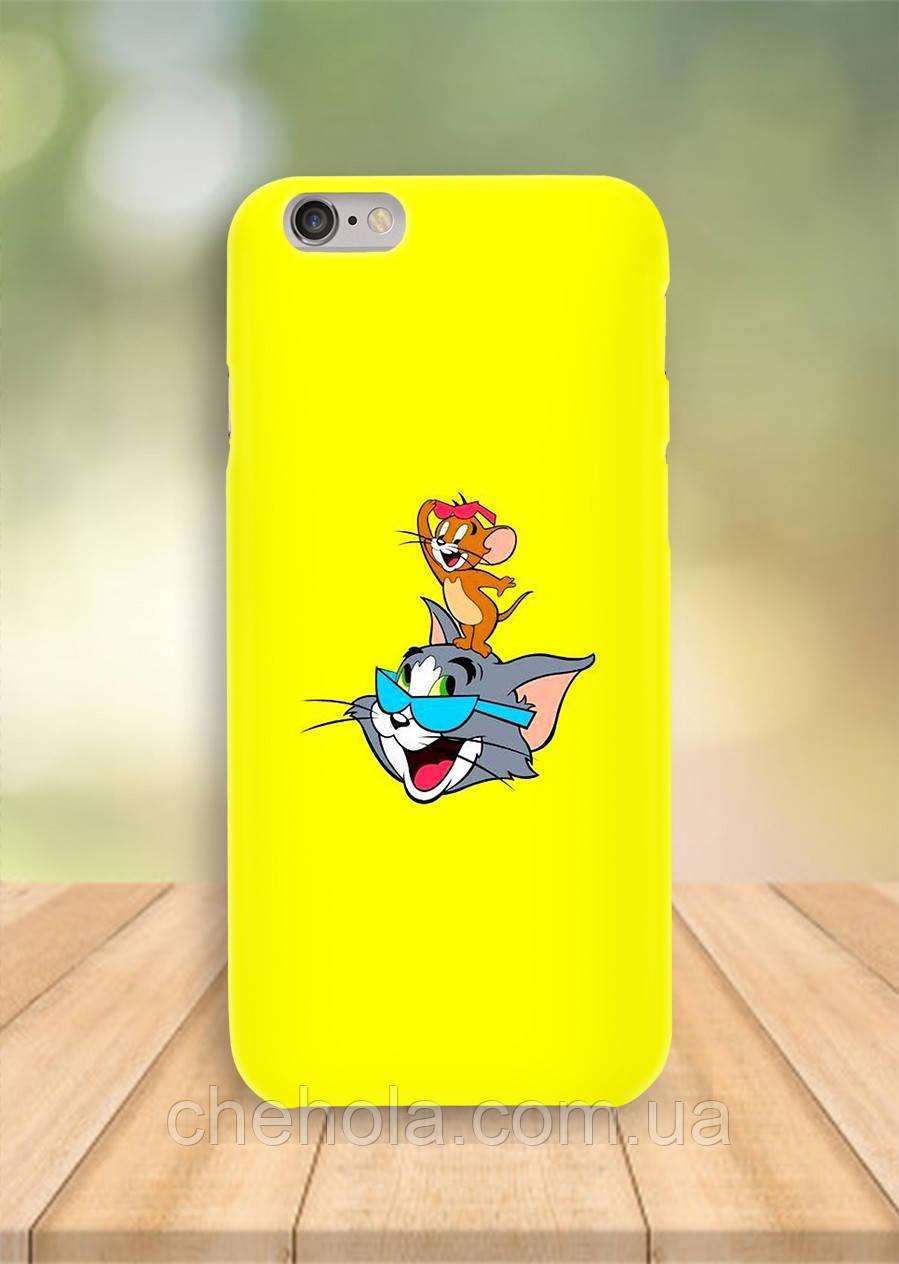 Чехол на iPhone 6S 6 PLUS 6 Том и Джерри