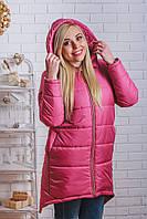 Пальто зимнее с капюшоном , фото 1