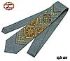 Вышитый галстук лён Заряд энергии, фото 2