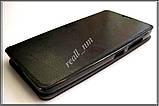 Черный кожаный чехол Mofi для смартфона Microsoft Lumia 535, фото 3