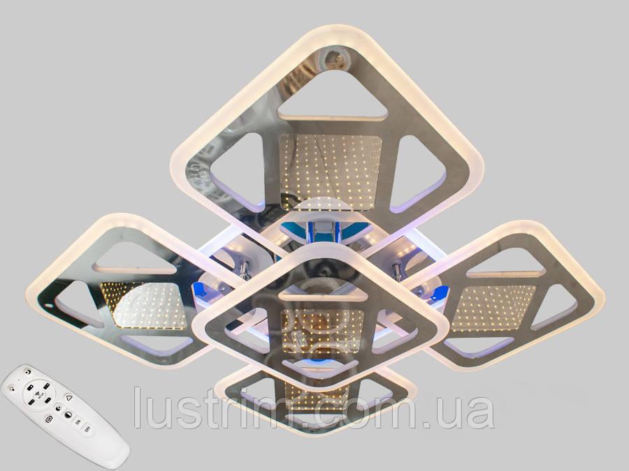 Светодиодная LED-люстра с 3d эффектом, 170W