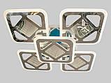 Светодиодная LED-люстра с 3d эффектом, 170W, фото 3