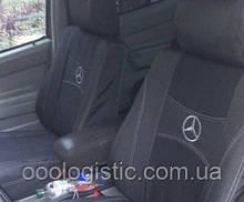Авточехлы на передние сидения Mercedes-Benz  Atego 1+1 Nika