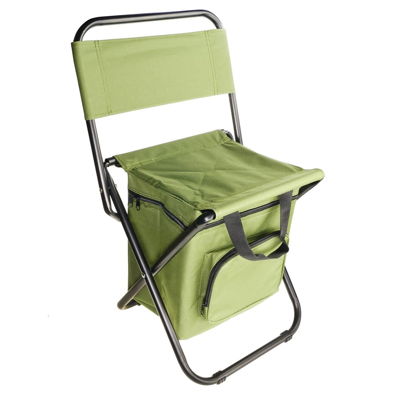 Складной стул с термосумкой Хаки (58680001)