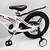 ✅ Детский Двухколесный Магнезиевый Велосипед MARS 18 Дюйм Белый, фото 8