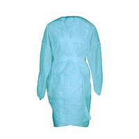 Халат-кимоно одноразовый с  рукавами (СМС) 5шт.