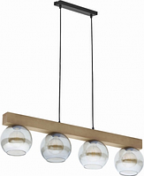 Люстра TK Lighting ARTWOOD GLASS 4255