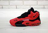 Мужские кроссовки в стиле Nike Air Max Speed Turf КРАСНЫЕ (Реплика ААА+), фото 2