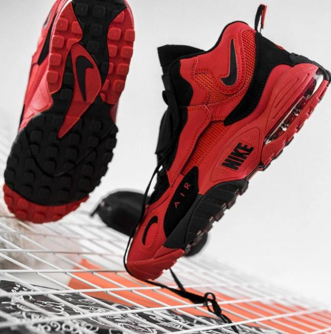 Чоловічі кросівки в стилі Nike Air Max Speed Turf ЧЕРВОНІ (Репліка ААА+)