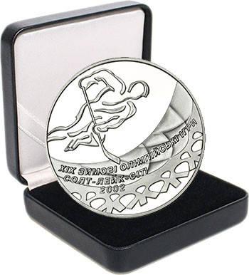 """Срібна монета НБУ """"Хокей, фото 2"""