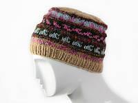 Шерстяная шапка вязанная в ассортименте Размер L