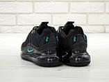 Мужские кроссовки Nike Air Max 720 в стиле найк аир макс ЧЕРНЫЕ (Реплика ААА+), фото 2