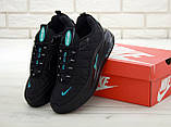 Мужские кроссовки Nike Air Max 720 в стиле найк аир макс ЧЕРНЫЕ (Реплика ААА+), фото 4