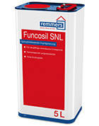 Пропитка гидрофобная  Funcosil SNL (1 л) защита фасадов