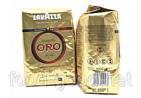 Кофе Lavazza Qualita Oro в зернах, 1кг