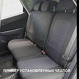 """Чохли AUDI 80 B3 1987-91г. з/сп цільна;""""горби"""";подлок., фото 10"""