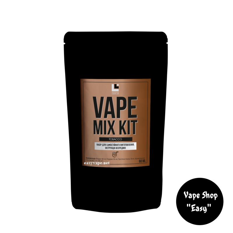 Набор для самозамеса Vape Mix Kit Tobacco 60 мл органика.